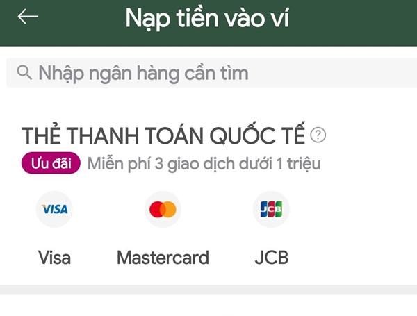 Chuyển tiền quốc tế Momo vẫn có thể được