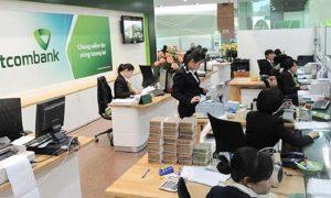 Nhận tiền tại Vietcombank chỉ diễn ra trong vài phút nhanh chóng
