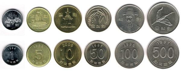 Đồng tiền xu Hàn Quốc có ý nghĩa như thế nào?