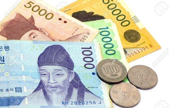 Tiền Hàn Quốc phổ biến tiền xu và tiền giấy với nhiều mệnh giá khác nhau