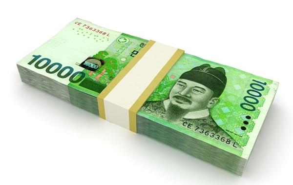 Won là đơn vị tiền tệ của Hàn Quốc