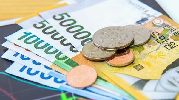 Tiền xu và tiền giấy là 2 loại tiền chính của Hàn Quốc