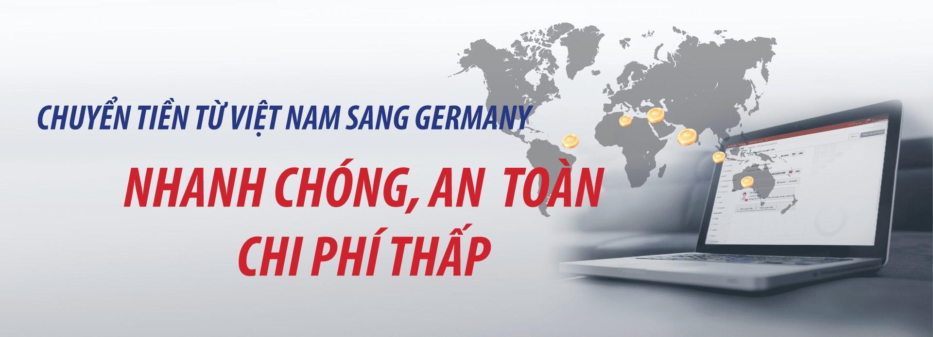 dịch vụ chuyển tiền từ Việt Nam sang Đức